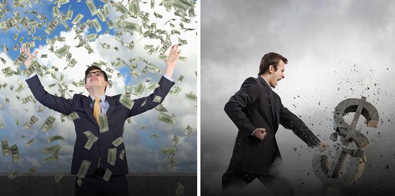 ความแตกต่างระหว่างคนรวยและคนจน